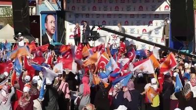 Başbakan Yıldırım: 'Cerablus'tan, El-Bab'dan, Afrin'den nasıl temizlediysek Kandil'den de temizleyeceğiz' - KIRIKKALE