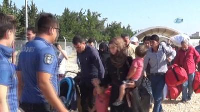 Bayrama 2 gün kala 50 bin Suriyeli ülkesine geri döndü