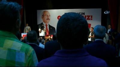 CHP Lideri Kılıçdaroğlu: 'Ülkenin yorgun insanlara değil, genç dinamik yöneticilere ihtiyacı var'