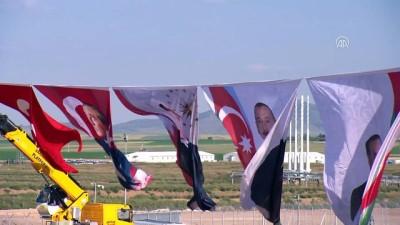 Cumhurbaşkanı Erdoğan: 'Enerjiyi çatışma değil işbirliği zemini olarak gören anlayışımız, TANAP sayesinde bir kez daha ete kemiğe bürünmüştür' - ESKİŞEHİR
