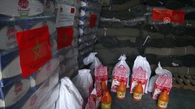 Fas'tan Gazze'ye gıda yardımı