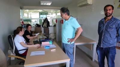 Gümrük ve sınır kapılarında oy verme işlemi devam ediyor - EDİRNE