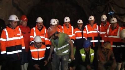 Ovit Tüneli'nin açılışı yarın gerçekleştirilecek