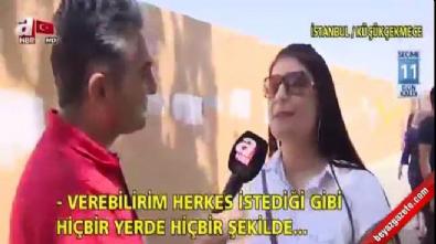 Sosyal medyanın konuştuğu CHP'li kadın
