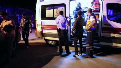 Şüpheli takibi yapan polis aracı kaza yaptı - SİVAS