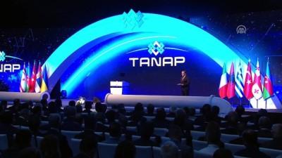 TANAP açılış töreni - KKTC Cumhurbaşkanı Akıncı - ESKİŞEHİR