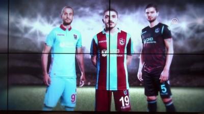 Trabzonspor'un yeni sezon formaları tanıtıldı - TRABZON