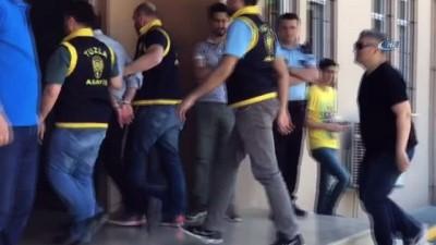 Tuzla'da amirini vuran güvenlik görevlisi olay yerinden böyle kaçtı