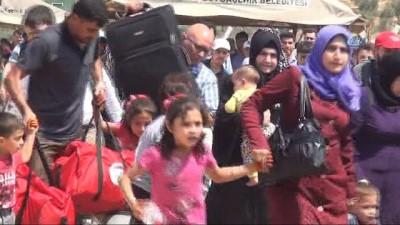83 bin Suriyeli Cilvegözü Gümrük Kapısı'ndan çıkış yaptı