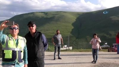 Ardahan'daki 'Atatürk silüeti' görülmeye başladı