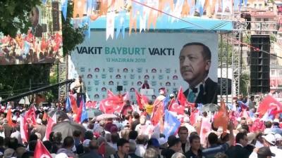 Başbakan Yıldırım: 'Biz diğer adaylar gibi hayal tacirliği yapmıyoruz' - BAYBURT