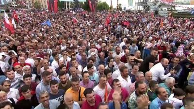 Cumhurbaşkanı Erdoğan: '24 Haziran seçimlerinde iki farklı zihniyet yarışıyor' - RİZE