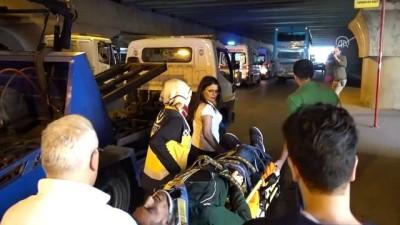 Fatih'te trafik kazası: 10 yaralı - İSTANBUL