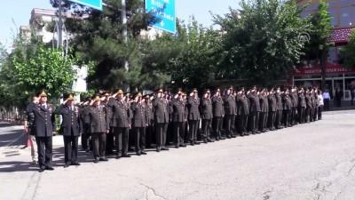 Jandarmanın kuruluş yıl dönümü Siirt semalarında kutlandı