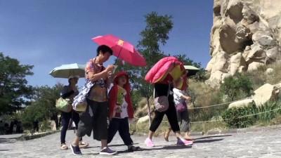 Kapadokya'da bayram yoğunluğu - NEVŞEHİR