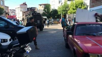 Kuştepe'de özel harekat polisi destekli narkotik operasyonu