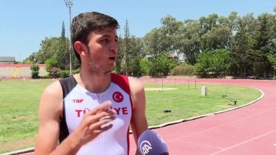 Yaz kursunda keşfedilen sprinter hedefine koşuyor - İZMİR