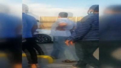3 kişinin hayatını kaybettiği kavgada yaşanan sıcak anlar kamerada