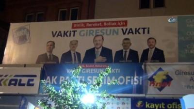 AK Parti Giresun Milletvekilleri son sahuru davulcularla yaptılar