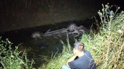 Aracıyla sulama kanalına düşen yaşlı adam hayatını kaybetti