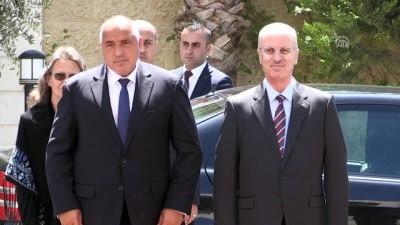 Bulgaristan Başbakanı Borisov Ramallah'ta