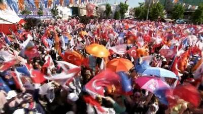 Cumhurbaşkanı Erdoğan: 'Bundan sonra tutuklu olanlar da aday olamayacak. Yasal değişikliği seçim sonrası getireceğiz'