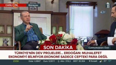 """Cumhurbaşkanı Recep Tayyip Erdoğan:""""24 Haziran'dan sonra ilk işimiz inşallah OHAL'i kaldırmak olacak"""""""