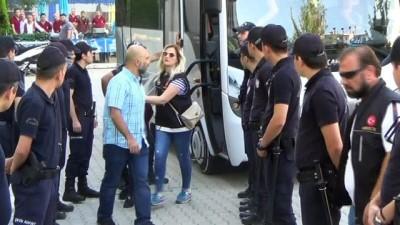Denizli'de şafak operasyonunda gözaltına alınan 11 kişi tutuklandı