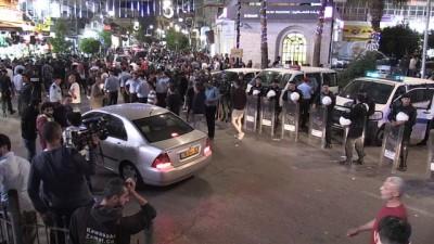 isgal - Filistin polisinden Gazze'ye destek gösterisine müdahale - RAMALLAH