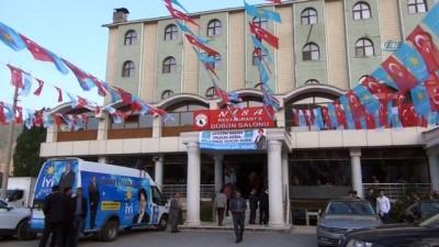 İYİ Parti Genel Başkanı Meral Akşener Bitlis'te