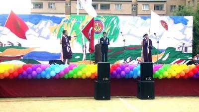 Kırgızistan-Türkiye Manas Üniversitesinde mezuniyet coşkusu - BİŞKEK