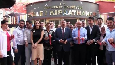 Manisa'da 'Millet Kırathanesi' açıldı