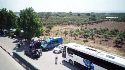 Manisa'da trafikte bayram yoğunluğu