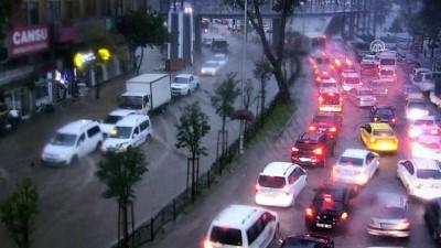 Sel felaketi MOBESE kameraları tarafından kaydedildi - KAHRAMANMARAŞ