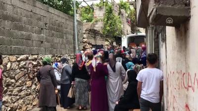 Selde ölen anne ve çocukları yan yana defnedildi - KAHRAMANMARAŞ
