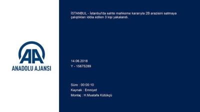 Tapu dolandırıcılığına yönelik operasyon - İSTANBUL