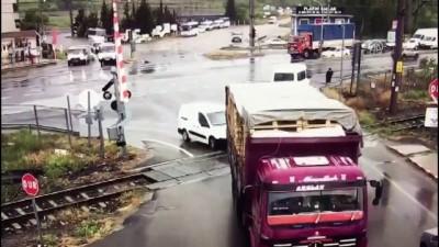 Trafik kazaları MOBESE kameralarınca görüntülendi - TEKİRDAĞ