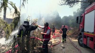 Bursa'da yangın