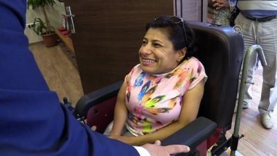 Engelli kadın çalınan telefonuna kavuştu - ADANA