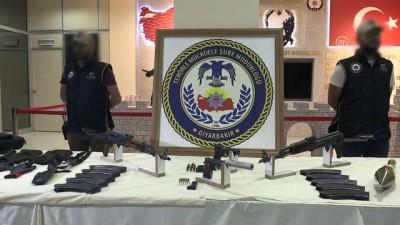 Saldırı hazırlığındaki 5 terörist yakalandı - DİYARBAKIR