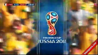 Dünya Kupası'nda ilk kez video hakem kullanıldı