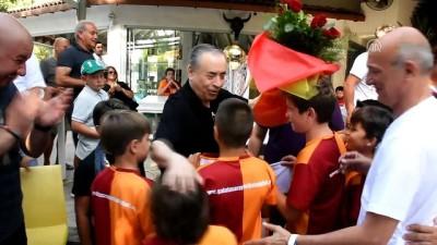 GS Başkanı Cengiz, Bodrum'da taraftarlarla buluştu - MUĞLA