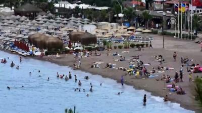 Güney Ege sahillerinde bayram yoğunluğu - MUĞLA