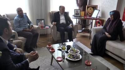 Koçer'den 15 Temmuz şehidi Seyit Ahmet Çakır'ın ailesine ziyaret