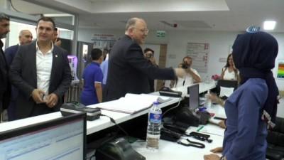 Milletvekili Koçer'den ANKA'da yatan hastalara ziyaret
