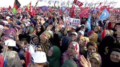 Cumhurbaşkanı Erdoğan: 'CHP'nin faşist, baskıcı karakteri yıllar geçse de asla değişmiyor' - İSTANBUL
