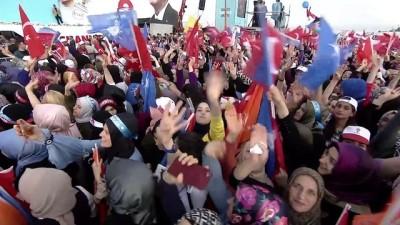 Cumhurbaşkanı Erdoğan: 'Rami Kışlasını da 7 milyon cilt kitaplık bir kütüphaneye çeviriyoruz' - İSTANBUL
