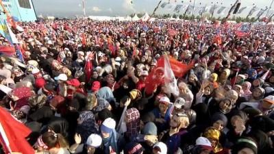 Erdoğan açıkladı, 3 şehit verilen yer 'Millet Bahçesi' oluyor
