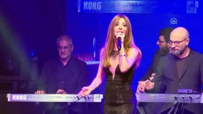 Lübnanlı sanatçı Nancy Ajram konser verdi - İSTANBUL