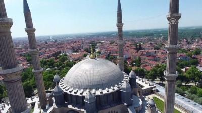 Selimiye'de ziyaretçi yoğunluğu - EDİRNE
